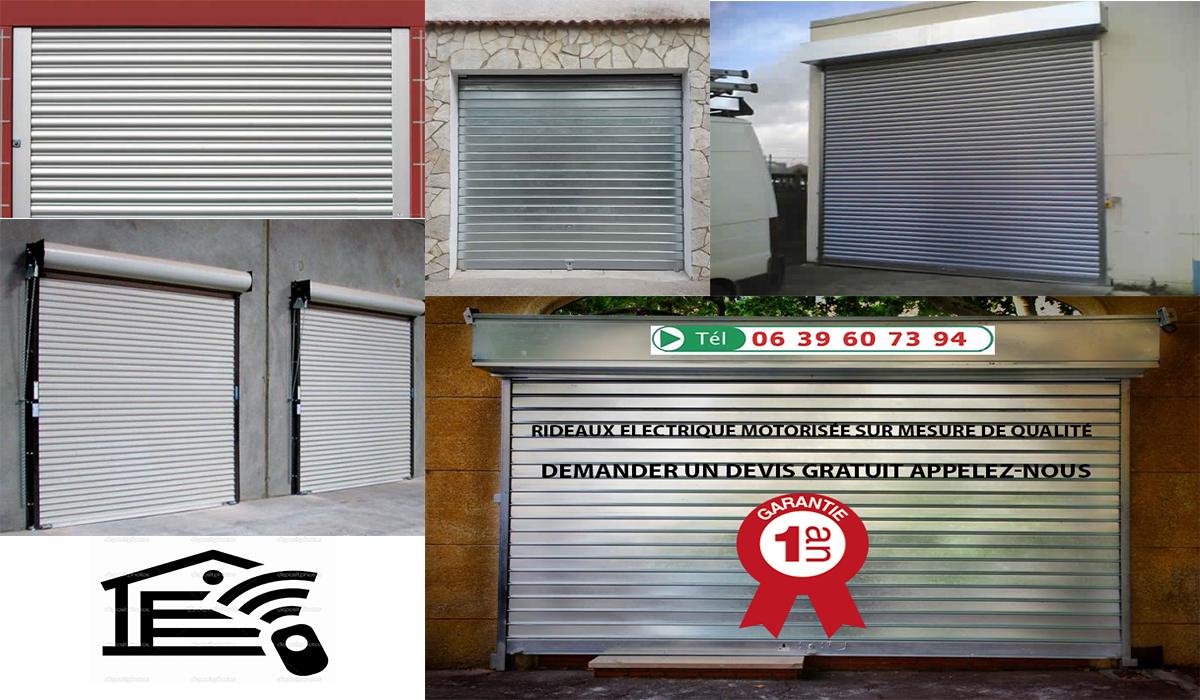 Installation rideau electrique reparation rideau for Rideau electrique garage