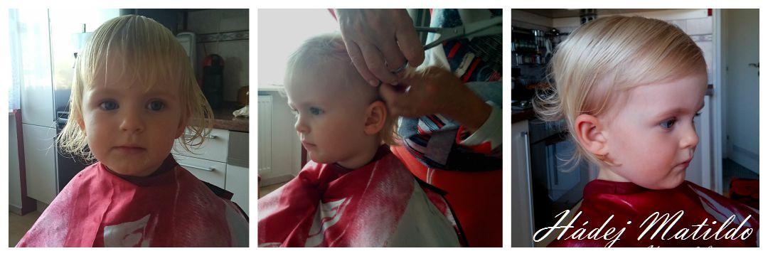 první stříhání, vlasy, no poo