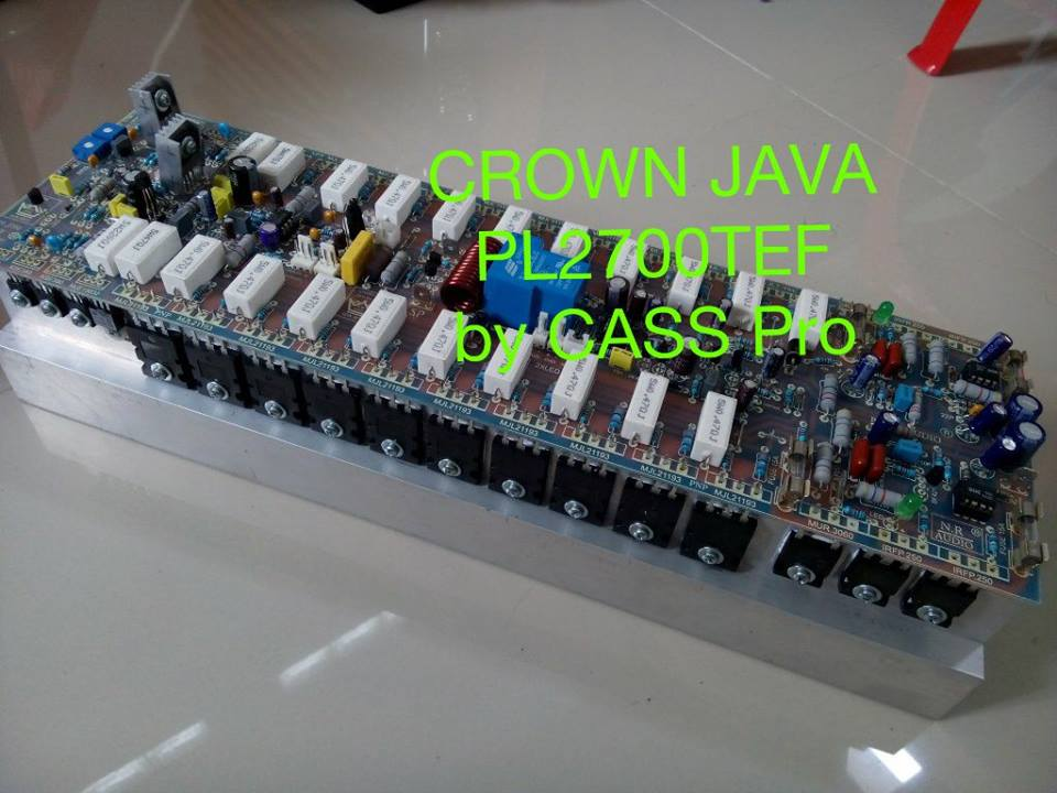 kit pcb power built up crown java merakit amplifier built up ala sendiri. Black Bedroom Furniture Sets. Home Design Ideas