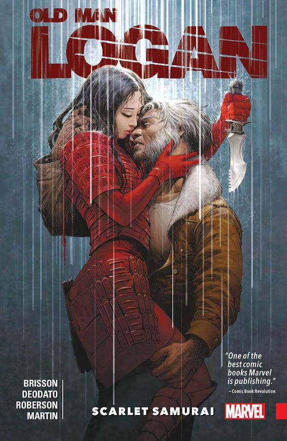 wolverine old man logan scarlet samurai comics