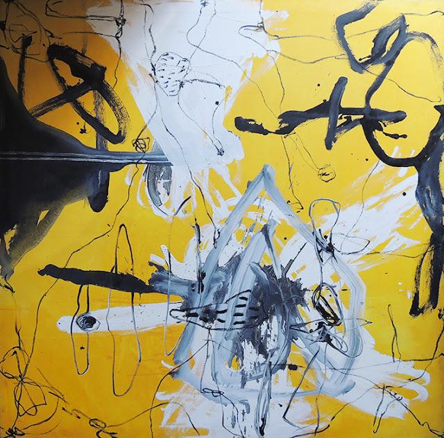 Enric Pascó i Ticó obra expresionista abstracta laberinto