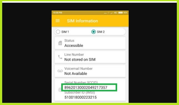 Cara Mengecek Nomor Seri ICCID Kartu Tri Menggunakan Aplikasi Android