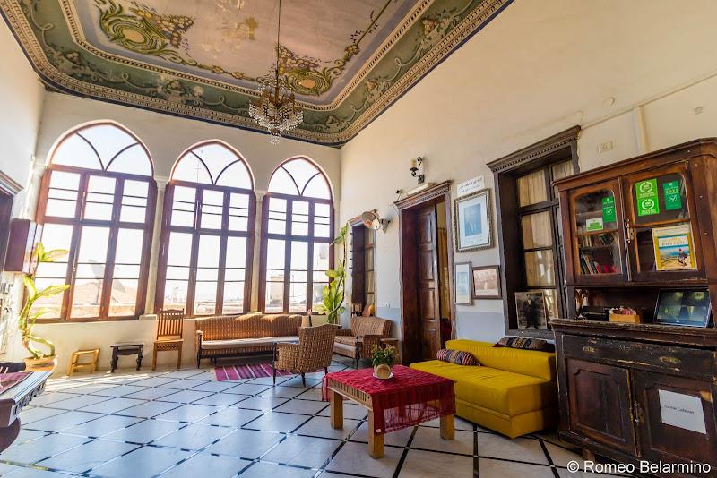 Fauzi Azar Inn Lounge Abraham Hostels Review