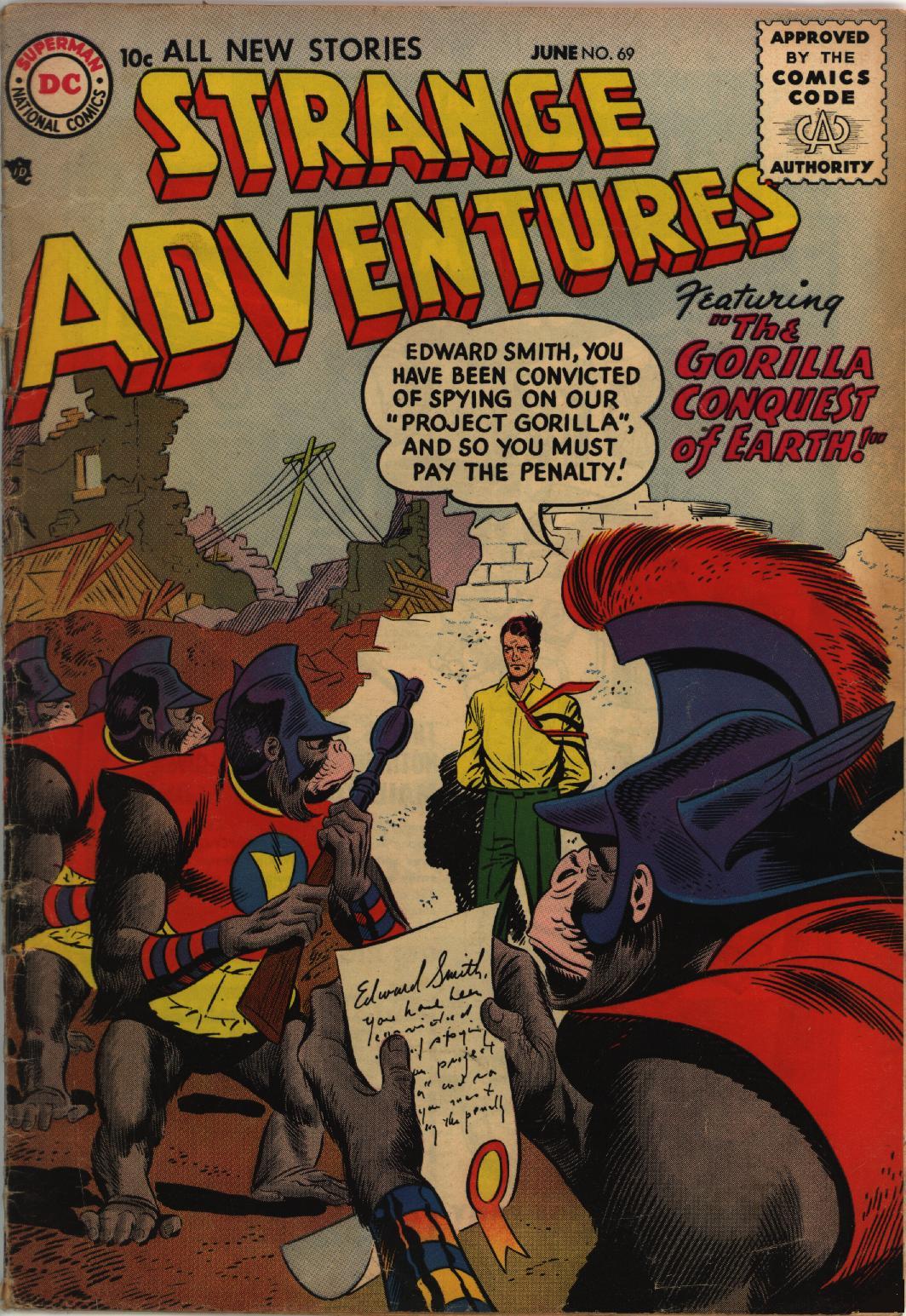 Strange Adventures (1950) 69 Page 1
