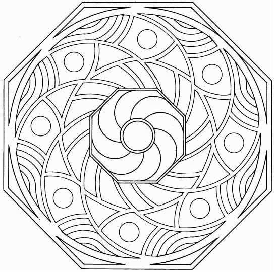 Celtic Kleurplaten Voor Volwassenen Mandalas Para Pintar Septiembre 2012