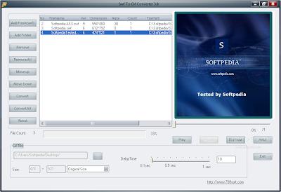 SWF to GIF Converter v4.0