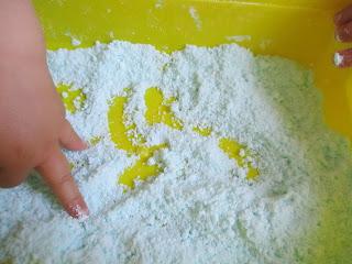 Pâte à patrouille slime sable comestible activité bébé