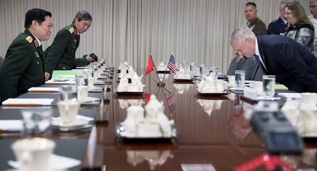 Lần đầu tiên Mỹ công nhận chủ quyền của Việt Nam trên Biển Đông