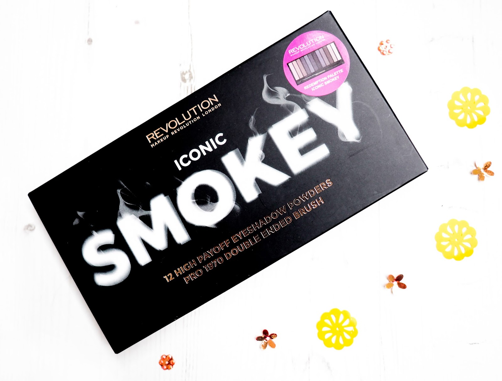 Makeup Revolution Iconic Smokey Palette Review