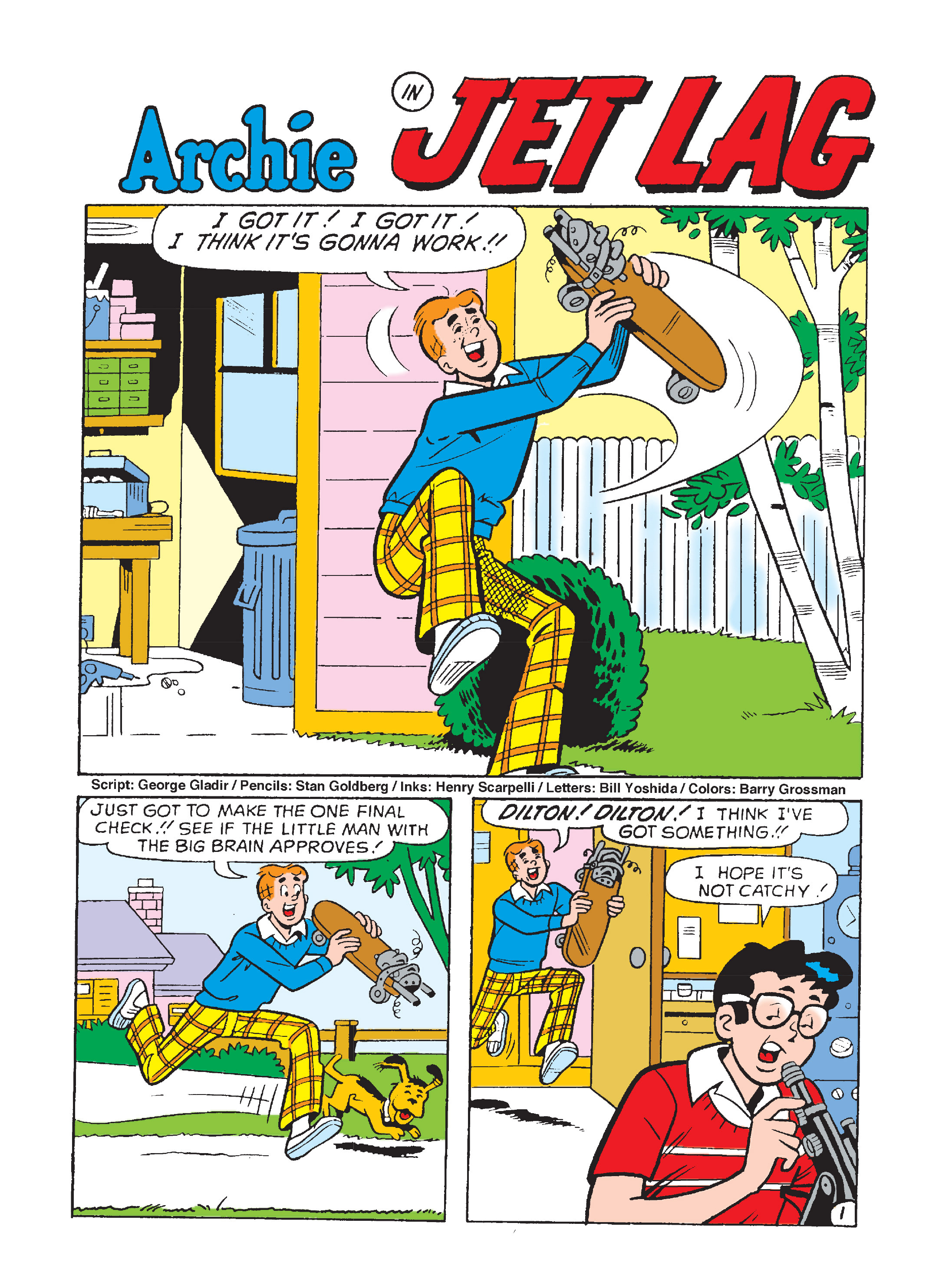 Read online Archie's Funhouse Double Digest comic -  Issue #8 - 73