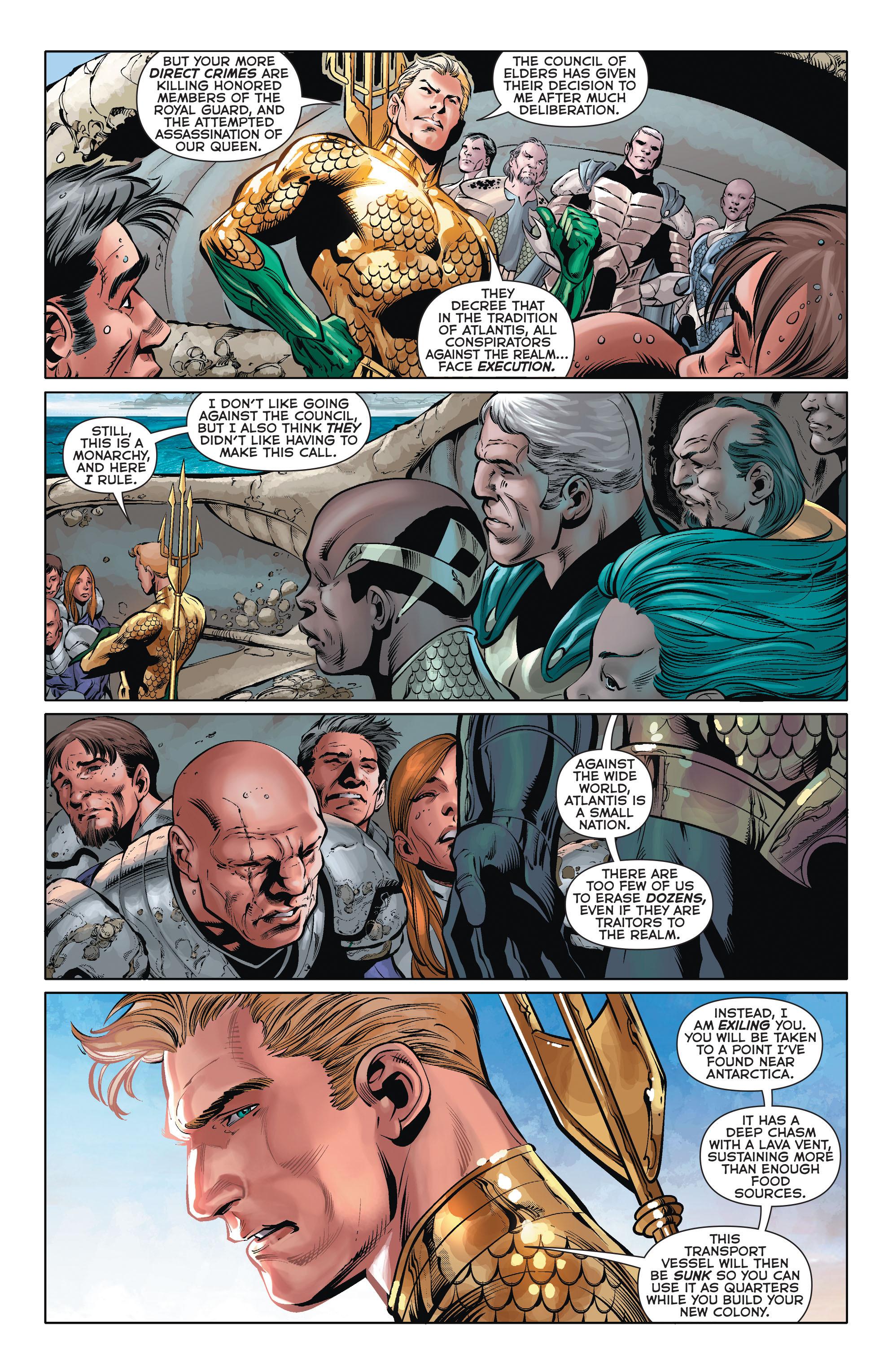 Read online Aquaman (2011) comic -  Issue #35 - 13
