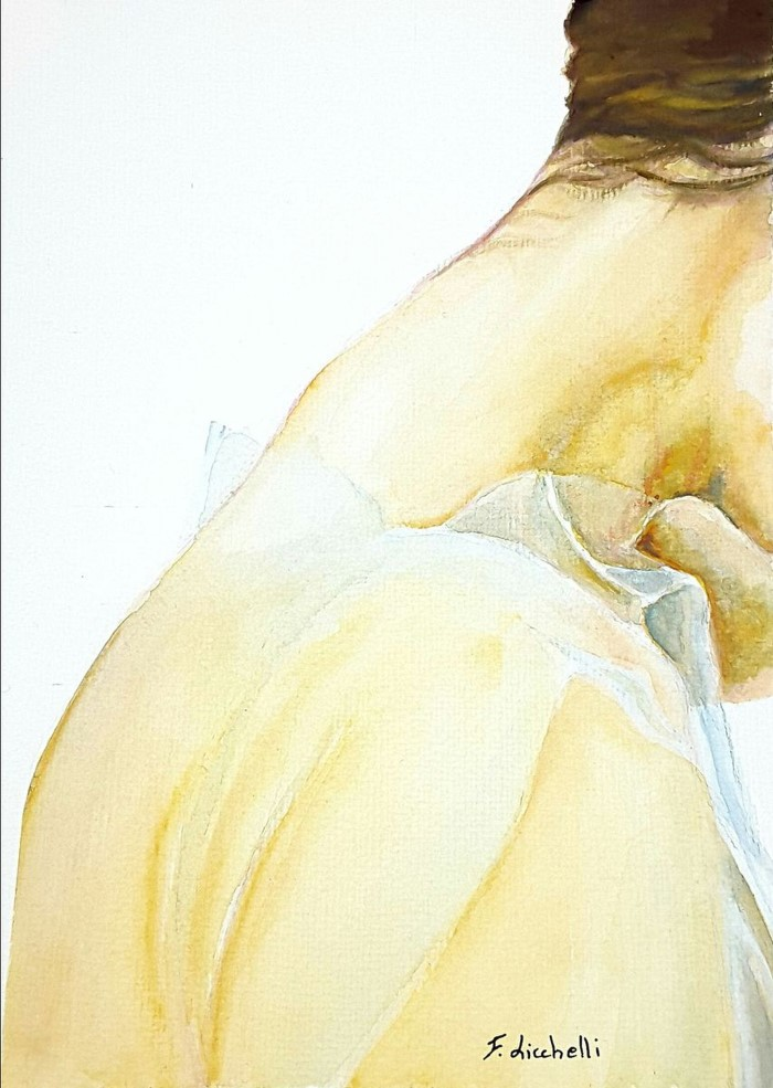 Итальянский художник. Francesca Licchelli