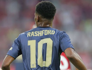 Rashford Gunakan Nomor Punggung 10 di Manchester United