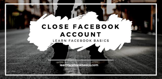 How to Close Facebook account Temporarily   Deactivate Facebook Account
