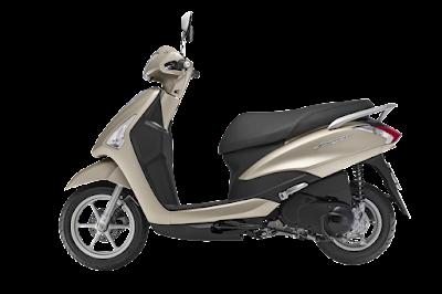 2016 Yamaha Acruzo 125cc side image