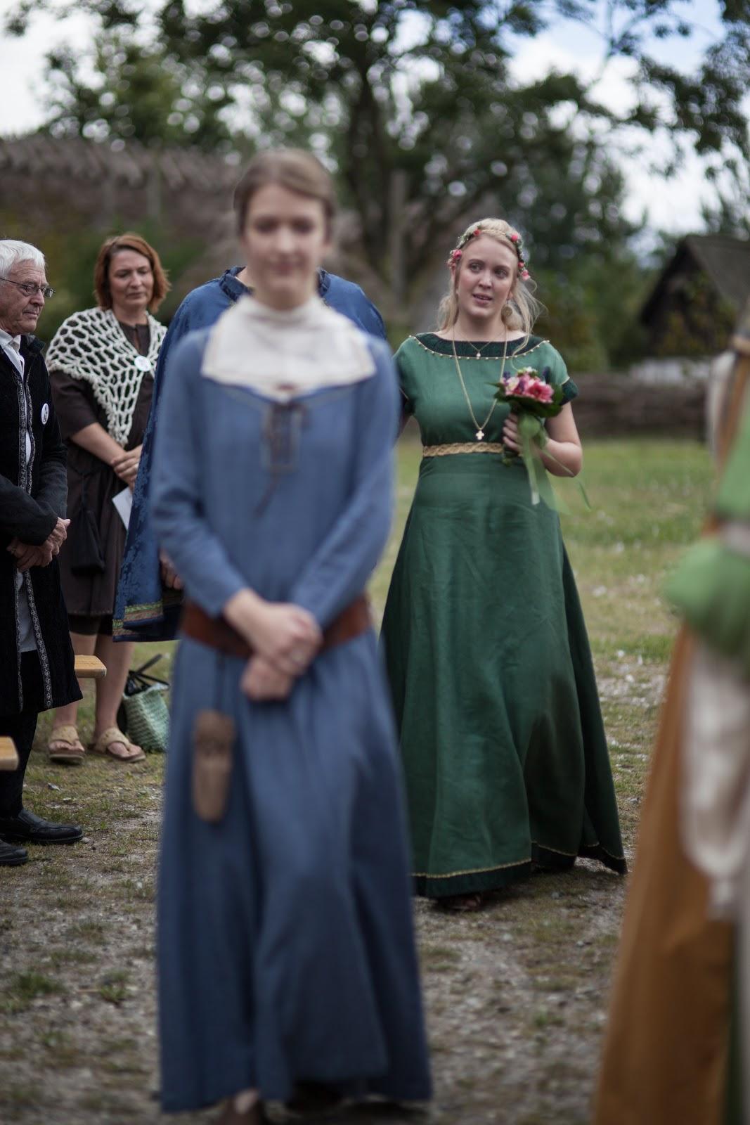 Medieval Bride: My medieval wedding - the ceremony