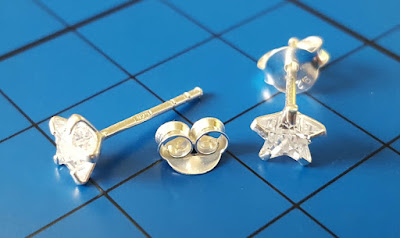 Sterling silver star earrings for children review