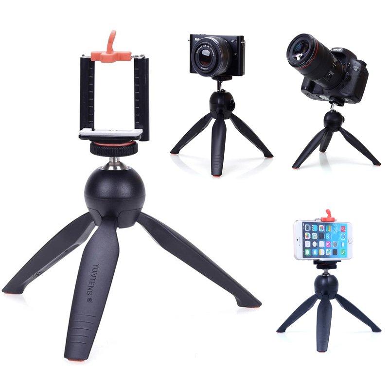 18,5k - Chân máy chụp hình đa năng  Yunteng YT288 3 chân giá sỉ và lẻ rẻ nhất