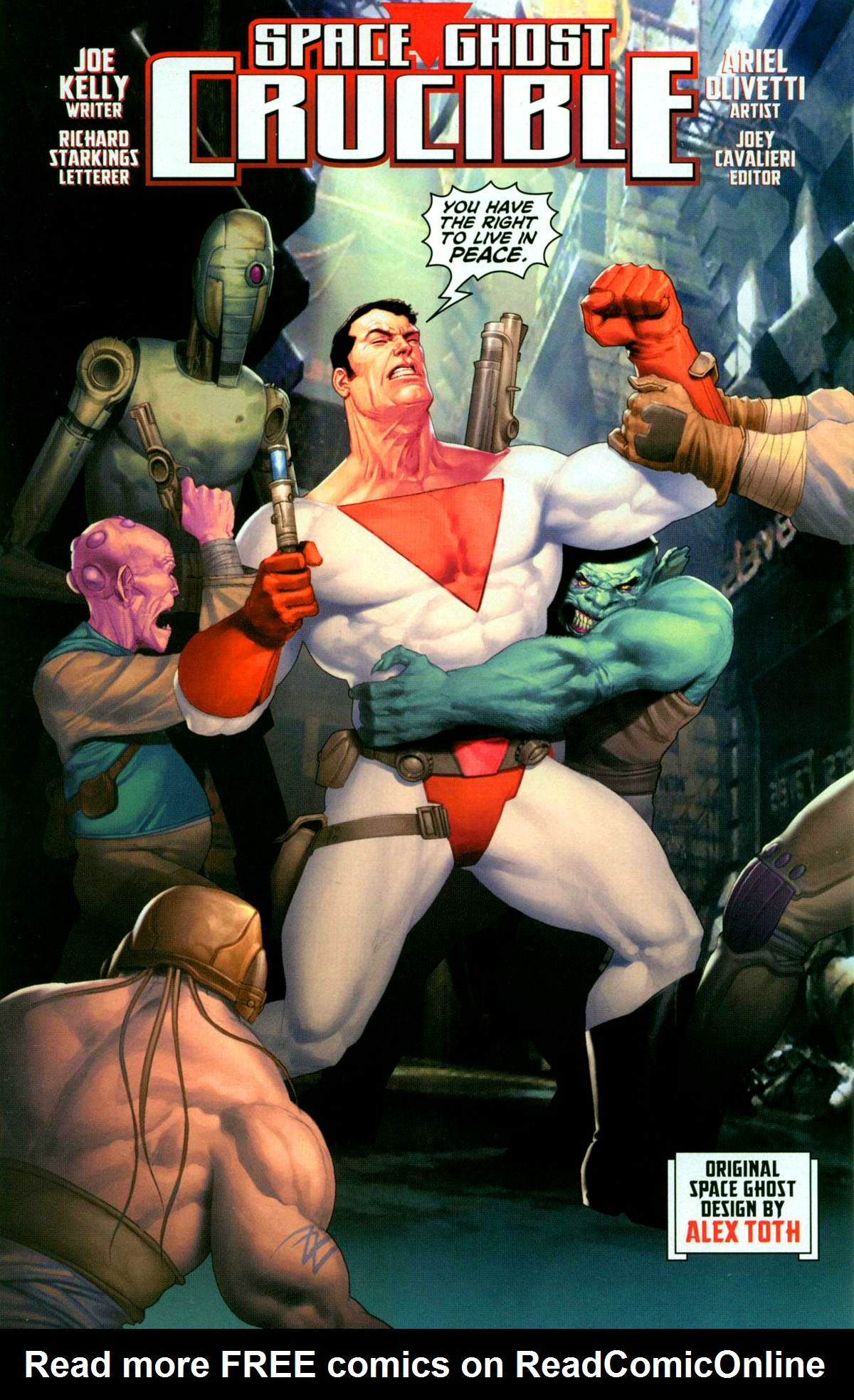 Read online Space Ghost (2005) comic -  Issue #1 - 3
