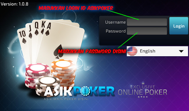 cara main poker online di android