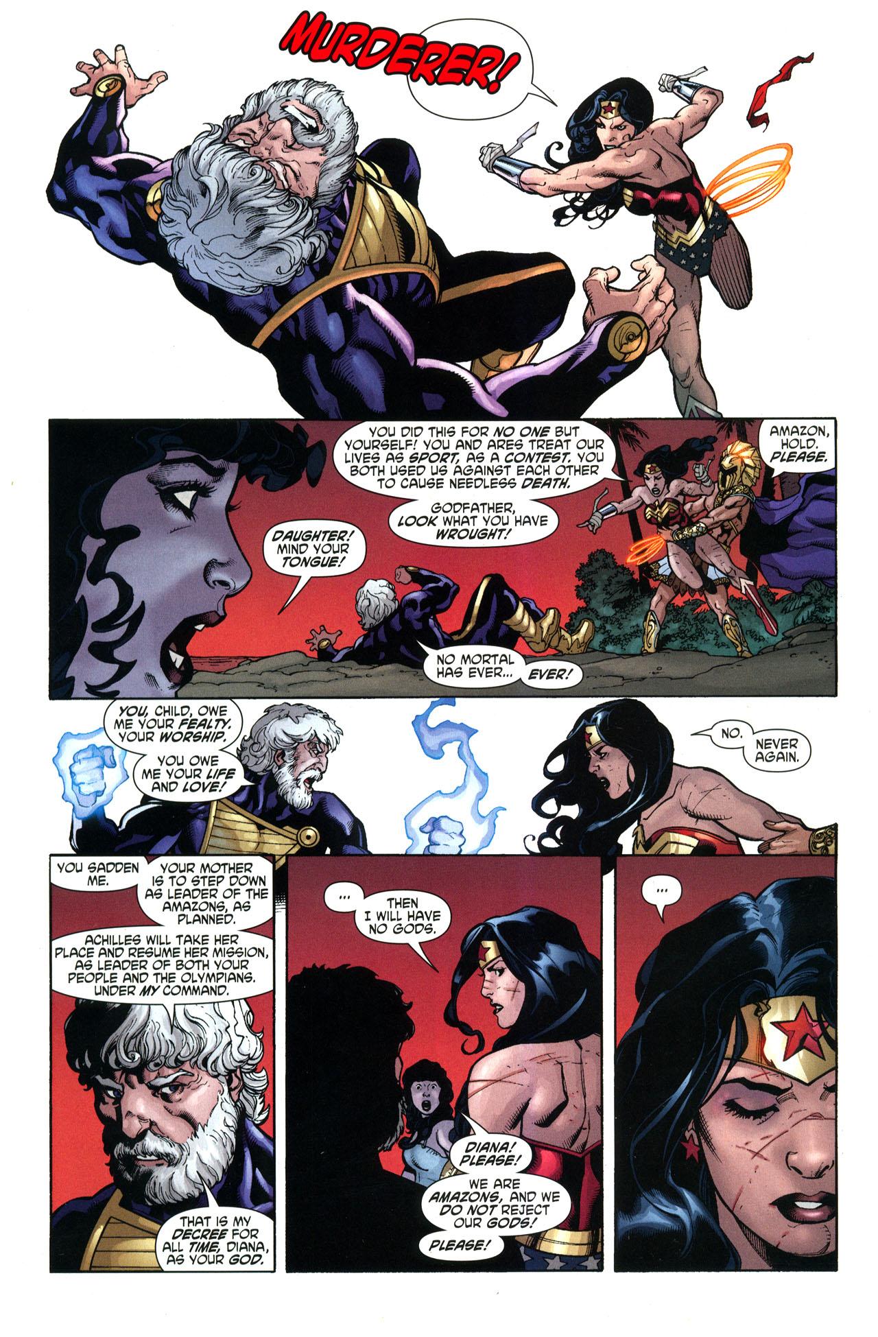 Read online Wonder Woman (2006) comic -  Issue #33 - 21