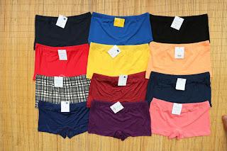 celana dalam wanita segi empat boxer, WA +62 812-7402-3018
