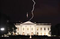Lightning Strikes White House