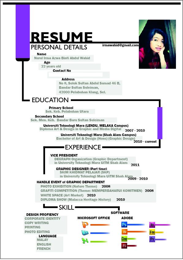 resume Curriculumvitae Malaysia on
