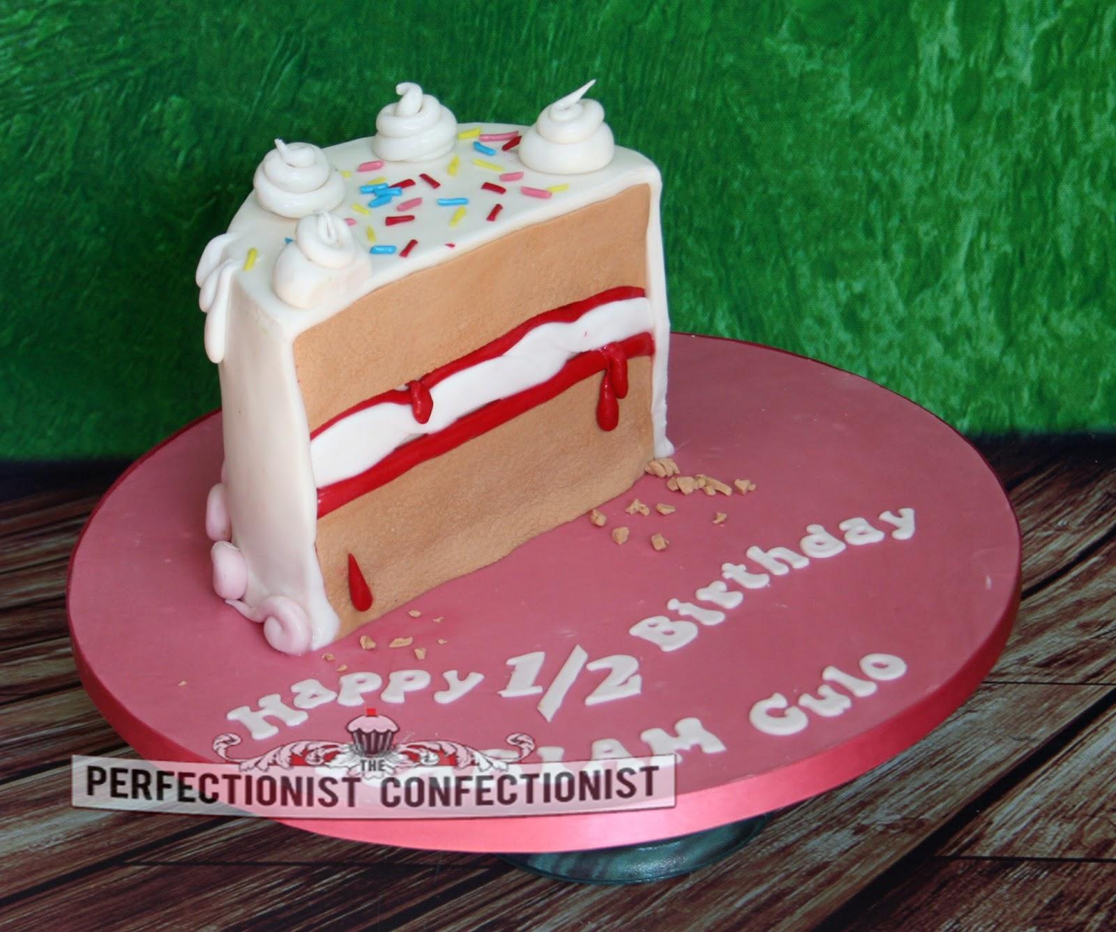 The Perfectionist Confectionist Mariam Half Birthday Cake