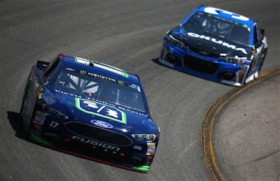 Stenhouse Jr. Scores Second Top-Five of the Season at Richmond