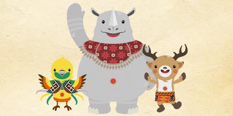 Nama dan Karakter Mascot Asian Games 2018