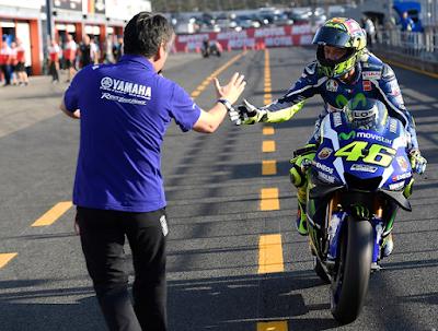 Ini Curhatan Rossi Usai Gagal Juara Dunia