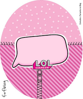 LOL Surprise: Wrappers y Topoers para Cupcakes para Imprimir Gratis.