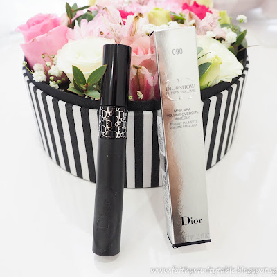 Dior Addict Lip Tattoo and Dior Pump'N'Volume Mascara Review, Swatches and Demo
