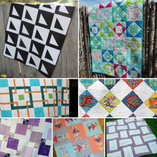 FREE One-Block Quilt Patterns