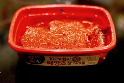 Le Chameau Bleu - Condiment coréen Gochujang - Cuisine Coréenne