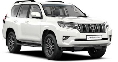 Spesifikasi & Harga Mobil SUV Toyota 2019