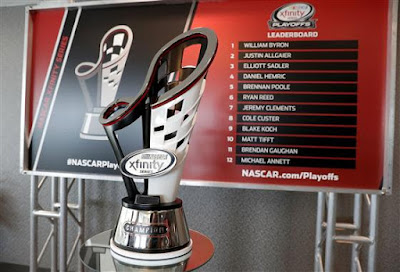 Championship Trophy - 2017 #NASCAR XFINITY Series Playoffs Media Day Photos