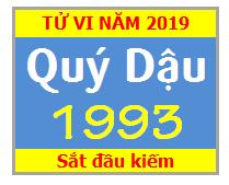 Tử Vi Tuổi Quý Dậu 1993 Năm 2019 Nam Mạng - Nữ Mạng