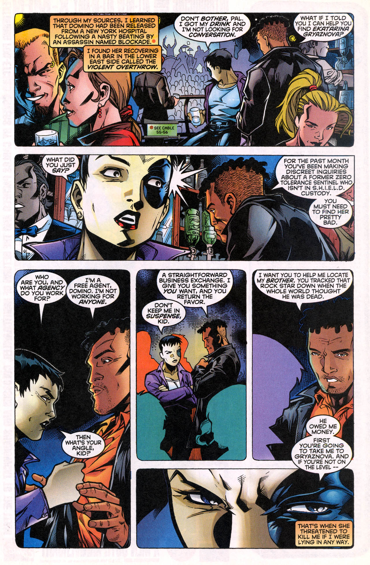 Read online X-Force (1991) comic -  Issue #82 - 10