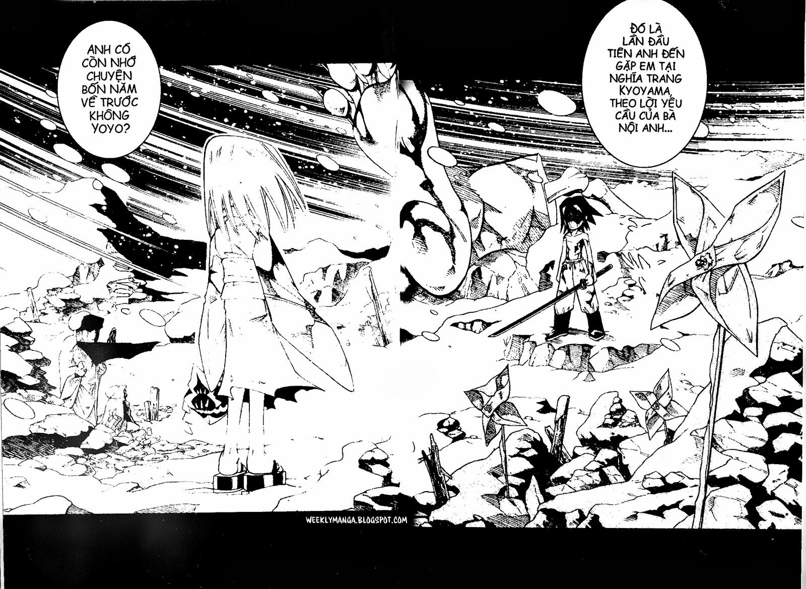 Shaman King [Vua pháp thuật] chap 162 trang 19