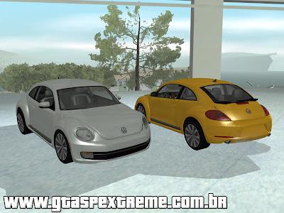 Volkswagen Fusca Turbo 2012 para GTA San Andreas