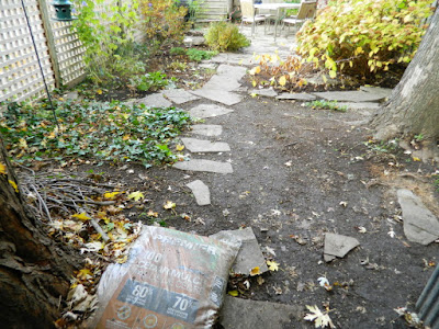 Leslieville Toronto Backyard Garden Fall Cleanup after by Paul Jung Gardening Services