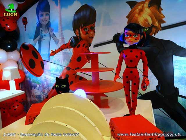 Festa Ladybug -Cat Noir - Miraculous - Decoração de aniversário infantil