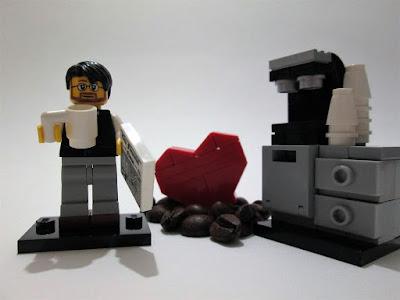 MOC LEGO I Love Café