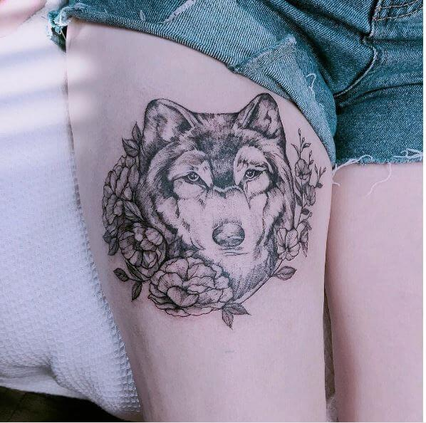 Mandala Wolf Tattoo Designs For Women I Like The: 130 Best Wolf Tattoo Designs For Men & Women (2018