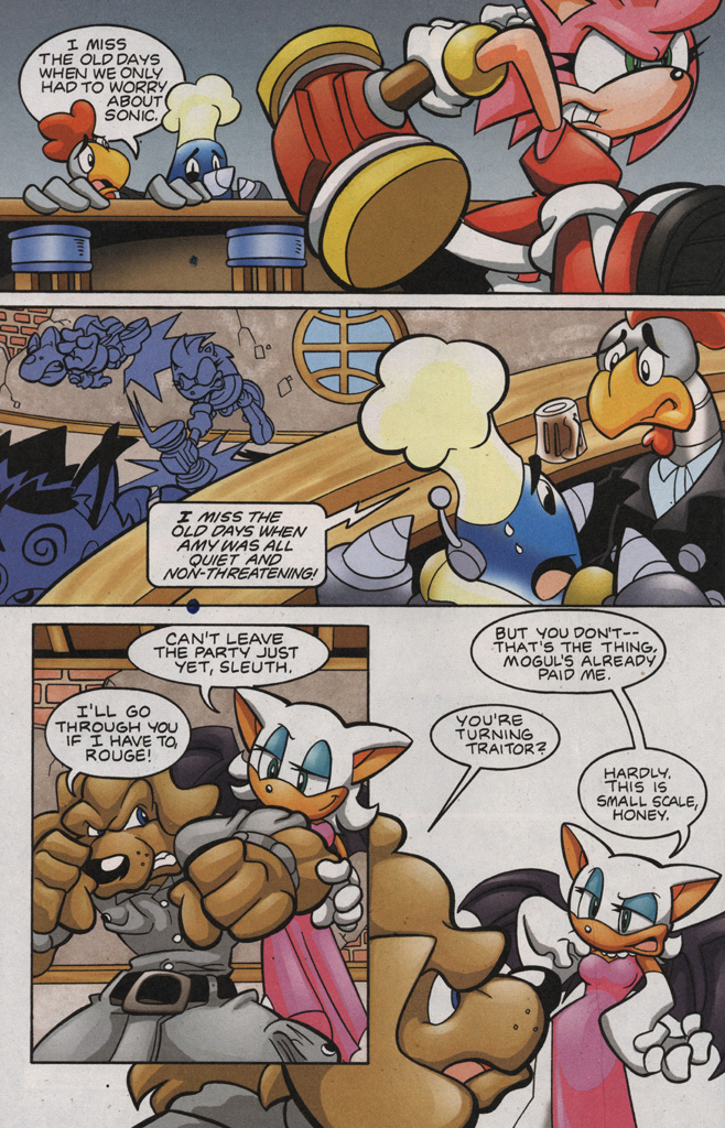 Read online Sonic The Hedgehog comic -  Issue #188 - 20