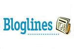 Logotipo de Bloglines, uno de los principales lectores de feeds