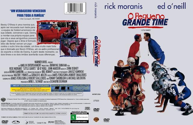 Capa DVD O Pequeno Grande Time