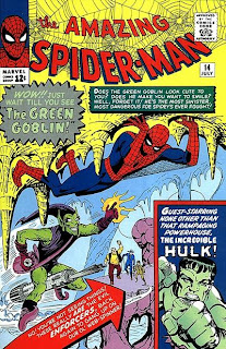 Amazing Spider-Man #14 Cover - 1st appearance of the green goblin